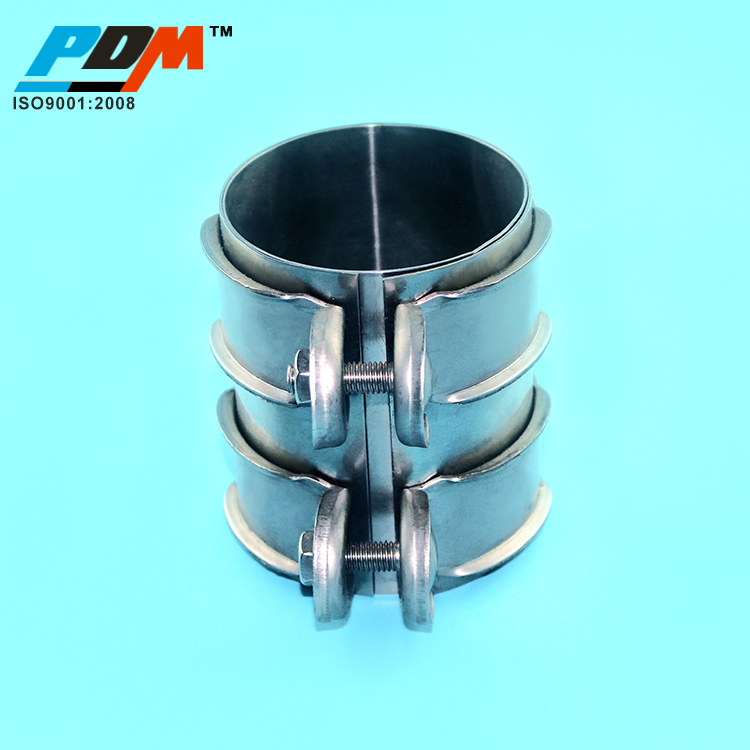 "Stainless Lap Joint Clamp Sleeve Band For BMW AUDI 2.5/"" 2 1//2/"" Exhaust OD Pipe"