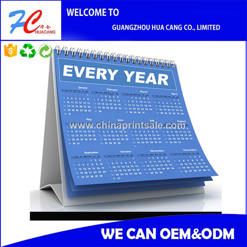 table calendar/desk calendar/wall calendar printing