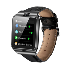 China hersteller Leder band 3G Android <span class=keywords><strong>Smart</strong></span> Uhr mit SIM WiFi GPS