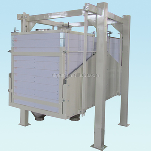 twin sieve/double bin/FSFJ Series Two-Section Plansifter used in flour mill