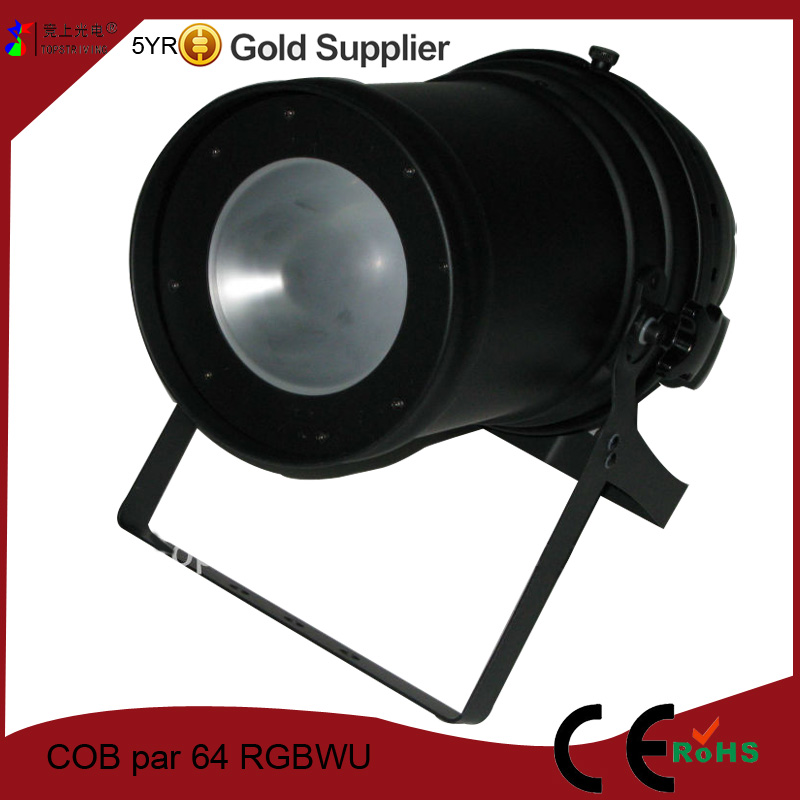 new products COB par 64 RGBWU WFL five in one spotlights for stage