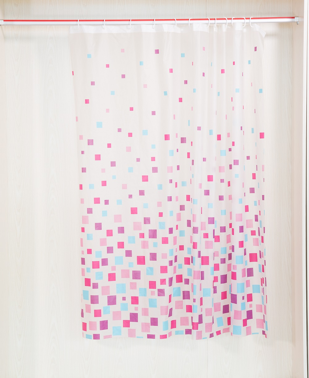 Best Quality Printed Pattern Shower Curtain Track Hooks - Buy ...