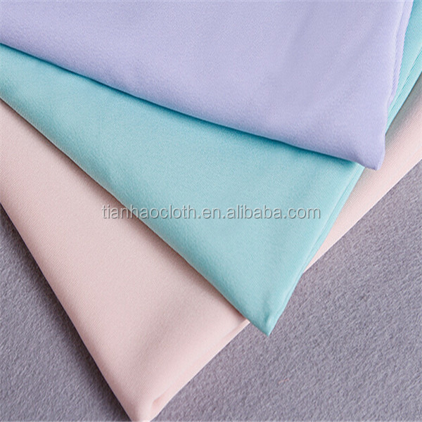 32X32 130X70 plain style 100% cotton fabric for garment beddings