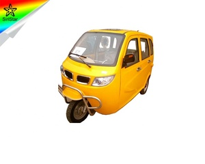 Hot Sale china cargo tricycle with cabin three wheeler cng auto rickshaw