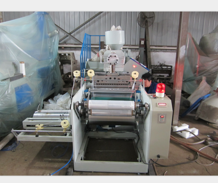 One-layer LLDPE Stretching Film Making machine