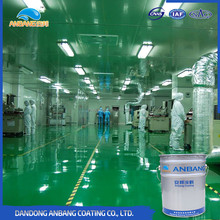 Fadeless good permeability waterproof floor closed lacquer hardener