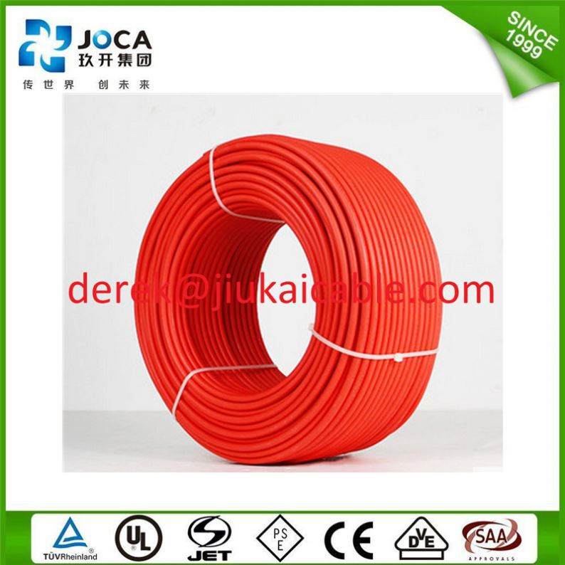 Pv1-F 2-Core Figure 8 Double Insusated Uv Flex 4Mm Figure 8 Solar Cable