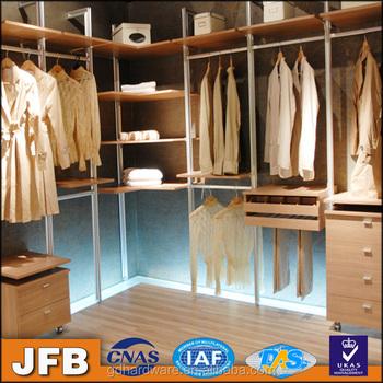 Amerikanischen Stil Garderobe Möbel Aluminium Hängen Schrank ...