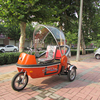 Hot three wheel electric vehicles for passenger velo taxi tuk tuk