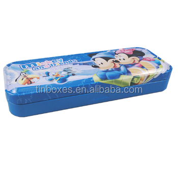 wholesale factory directly packing tin metal pencil case