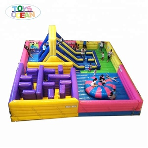 giant kids inflatable obstacle course for sale inflatable maze