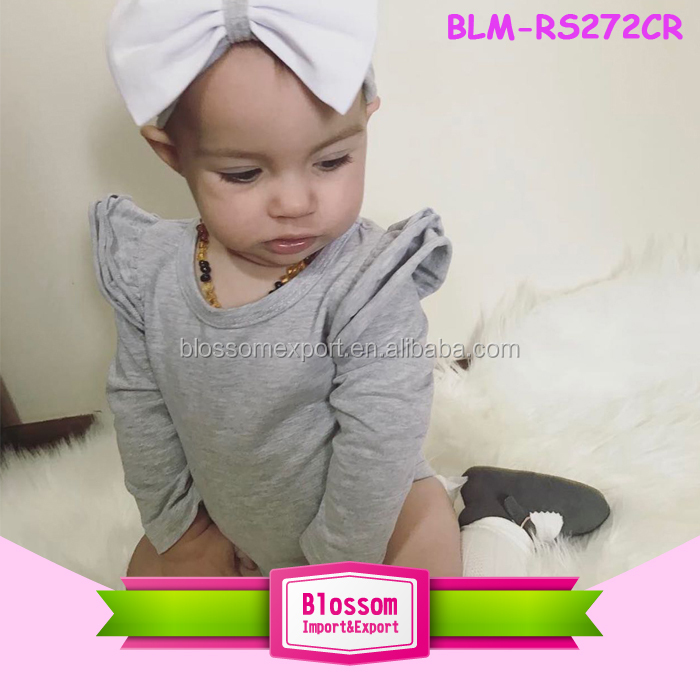 3909a0937969 Blank Short Sleeve Long Leg Baby Icing Ruffle Romper Lap Shoulder One Piece  Jumpsuit Infant Toddlers