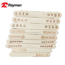 Disposable Wooden Wax Spatula Body Hair Removal Applicator Tongue Depressor
