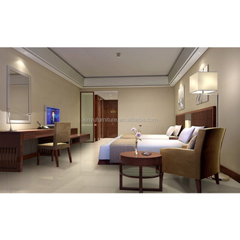 5 Star Hotel Modern Double Bed Design Hotel Bedroom Furniture For Sale