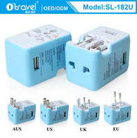 Otravel SL-182U one USB port All-in-One Travel Adapter and Converter Plug