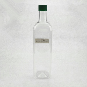 750cc cooking oil bottle plastic clear bottle for olive oil
