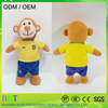 OEM supply wearing clothes monkey custom plush baby toy