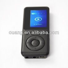 2013 new product 1.5inch MP3 Smart Voice Control Player Q7