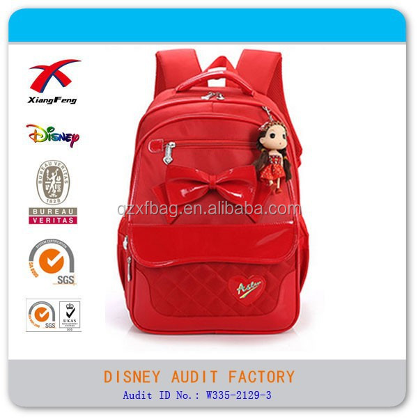 XF 2015 outdoor student school bag cute girls trolley bag