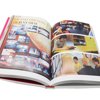Cheap thick hardcover photo book printing