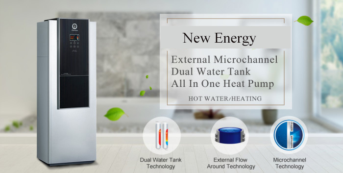 R410a Certification Quality Certified Domestic Hot Water Heater Design Heat  Pump Tank Air-water All In One Heat Pump - Buy Domestic Hot Water
