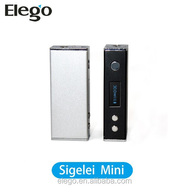 New Arrival eCig Vaporizer Sigelei Mini 30W Box Mod Fit For 0.3ohm~3.0ohm Electroni Cigarette