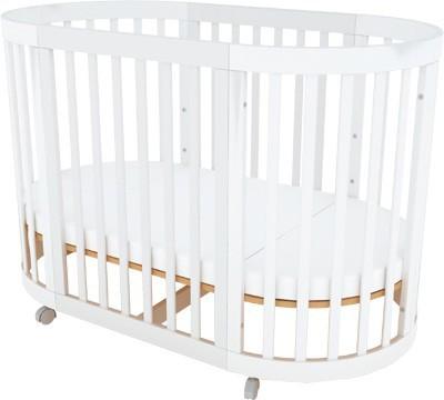 plan de cubby convertible multi propsito recin nacido cuna para dormir vivero de madera beb
