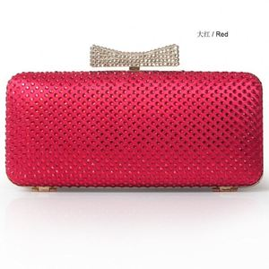 New Design Women Evening Bag Sexy Satin Wedding Evening Clutch Bags