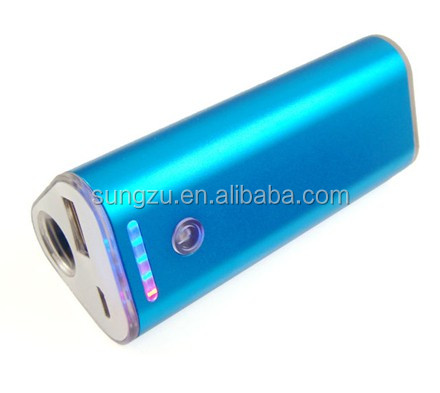 Factory USB real universal power bank with triangle shape 5400mah,external power bank for blackberry, Nokia, Android