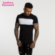 mens two tone colour block t shirt blank t shirt