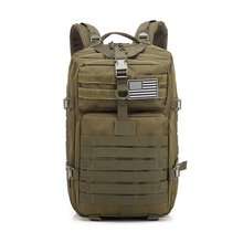 New travel 3P army green grade backpack large military rucksack for men