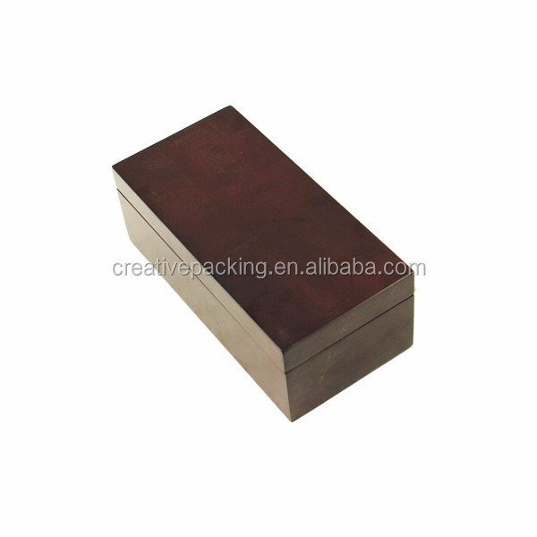 Simple Wooden Gift Coffee Tea Gift Storage Box