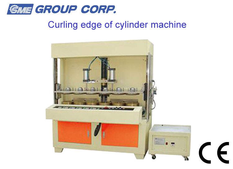Two-head High Efficiency Plastic Cylinder Curling Side Machine - Buy  Cylinder Curling Side Machine,Plastic Cylinder Machine,Cylinder Curling  Side