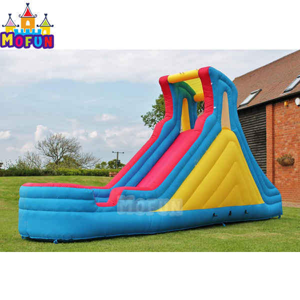 18ft Liquid Motion cheap residential Inflatable Water Slide for backyard