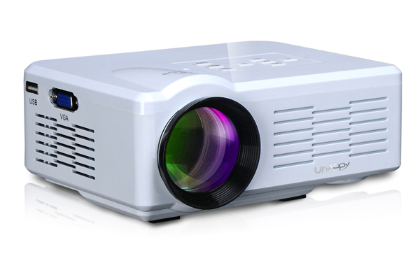 Portable Mini LED Projector 800lm Projection Size 30-100 Inch HD VGA HMDI AV TV USB SD Home Theater System Beamer Projektor
