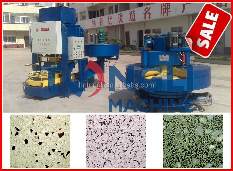 Automatic floor tile making machine for hot sale