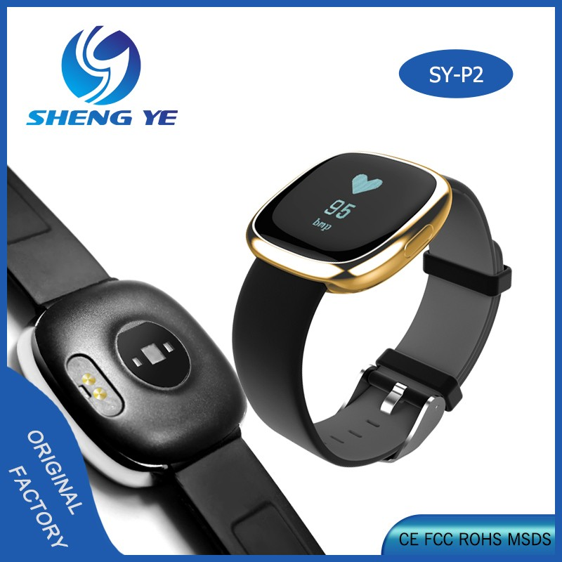 Bluetooth smart band heart rate monitor wristband bracelet activity tracker Wearable Devices Blood pressure smart band
