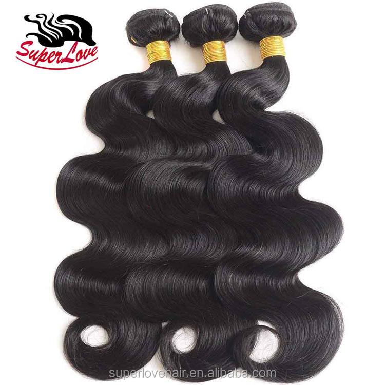 Cabelo SuperLove Venda Quente 8A Grau Barato Malaio Onda Do Corpo do cabelo Humano para As Mulheres Negras de Cabelo Direto Da Fábrica Durante A noite grátis