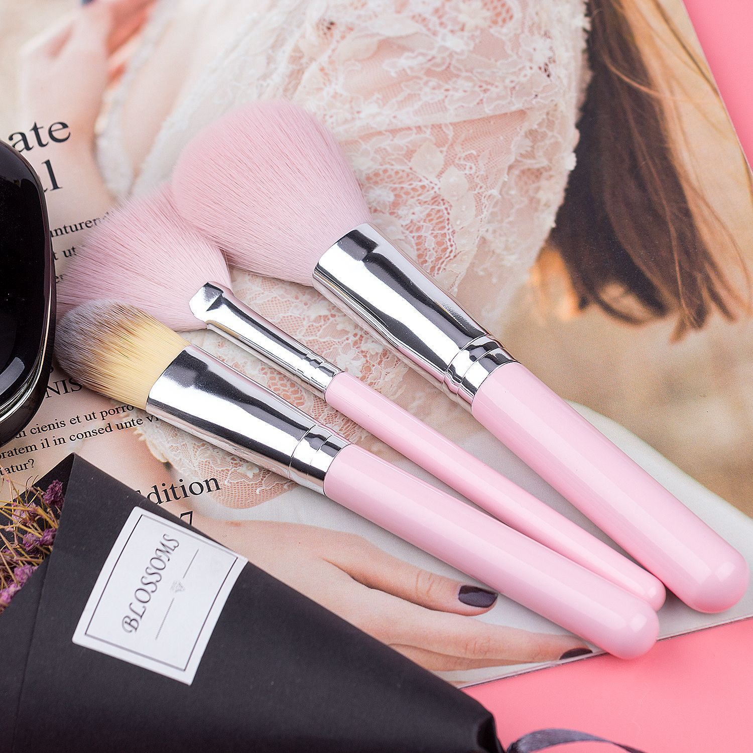 Makeup Brush 8 Piece Set Beginner Makeup Tools Complete Eye Brush Beauty Makeup Set