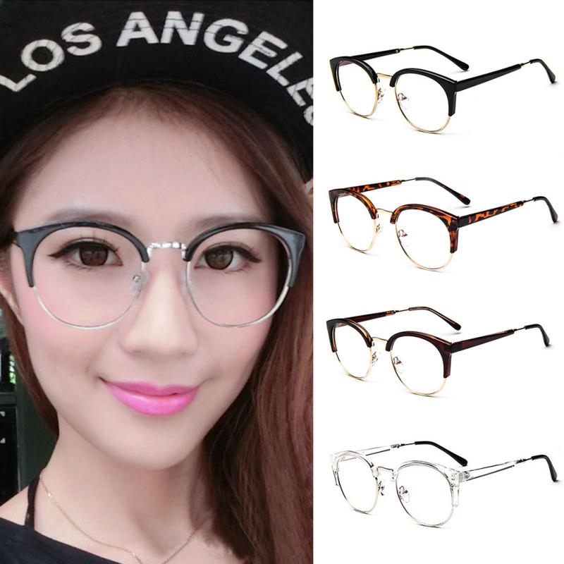 2b037cd09ea 2019 Wholesale 2017 Anti Radiation Goggles Plain Glass Spectacles ...