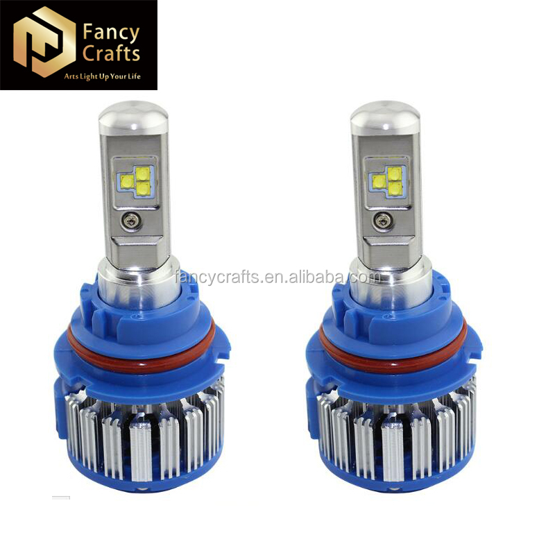 auto parts new cob headlamp replacement bulbs h7 h11 d2 9004 9006 9012 6000k white lights 80w 8000lm led headlight h4