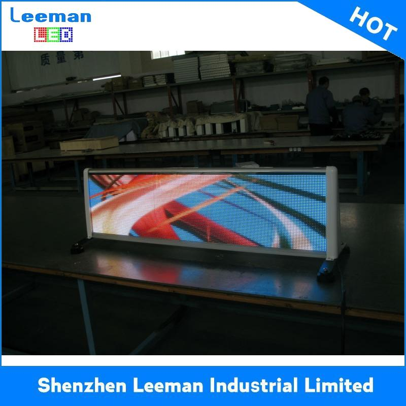 wifi advertising billboard led mobile trailer module display