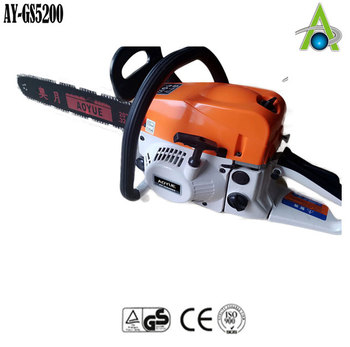 Gas Chainsaw With Electric Start