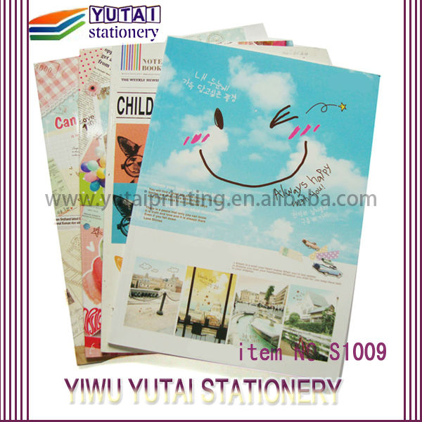 Yutai wholesale smile cover diary