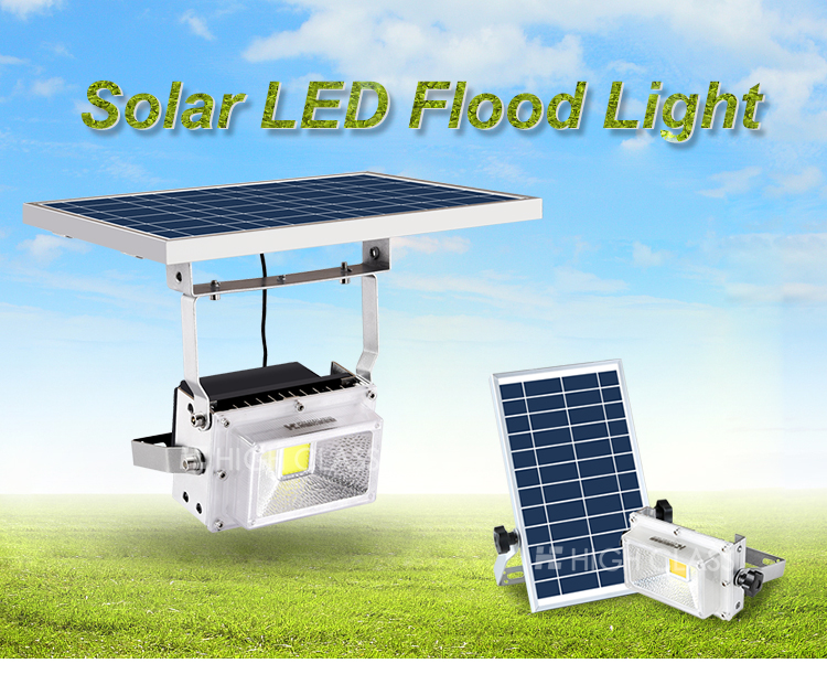 10w 15w energy saving ip65 outdoor waterproof motion sensor solar flood light