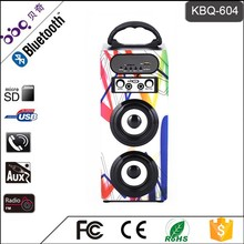 Save cost multimedia bluetooth speaker 2.0 with certificate