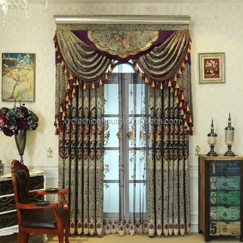 European Golden Royal Luxury Curtains For Bedroom Window Curtains For  Living Room Elegant Drapes Curtains - Buy Bedroom Window Curtains,Luxury ...