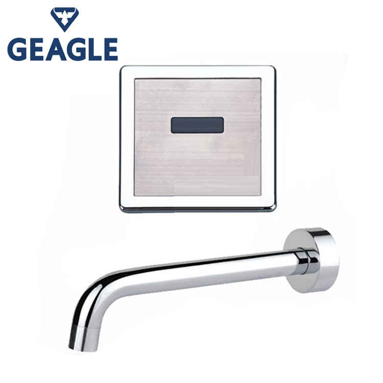 2018 Wholesale Unique And Versatile Design Wall-Mounted Sensor Infrared Kitchen Sink Tap