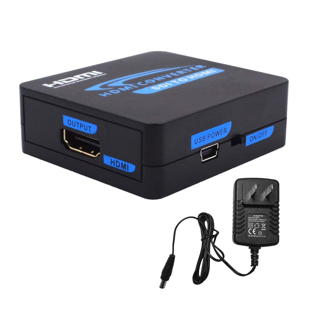 Flameer 1080P HDMI to SDI HD Audio Video Converter Adapter Switcher for HDTV US-plug