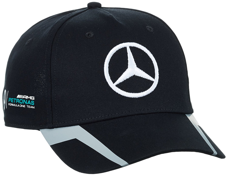 Mercedes Benz Petronas AMG Formula 1 Lewis Hamilton Drivers Black Baseball Hat